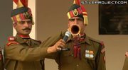 Daily dance off at the closing of the India and Pakistan border