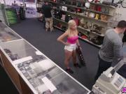 A Hot Stripper And Her Pole At The Pawnshop