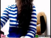 Teen Flashing Her Tits