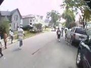 Motorcycle Wheelie Show Off Fail