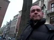 Dutch sex worker eats pussy