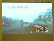 Copy hit by oncoming traffic during speeding ticket stop