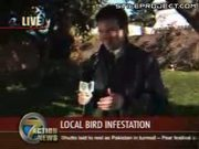 Bird Poops In Local News Reporter's Mouth