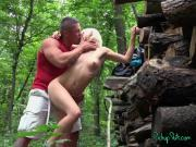 Hot Blonde Zazie Skymm Loves Public Fucking