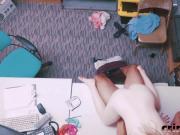 Shoplifter Dolly Blowjob Riding Big Dong On Desk