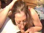Cum-Savoring Suburbanite Licks Eager Stud