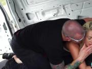 Blonde Keely Jones Teen Kidnapped Sucks Fucks