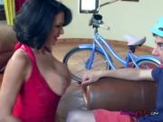 Busty Cougar Veronica Avluv Devours Cock Of Neighbor