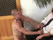 Muscly hunk bareback fuck