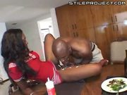 nyomi banxx and her thick black booty fucked by a brotha