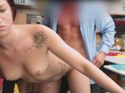 Naiomi Mae shoplifts and fucks for freedom