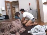 Asian couple tacking care of each other