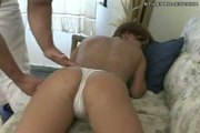 Anal action with short haired hotty