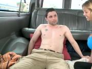 Unsuspecting straight dude gets gay bj
