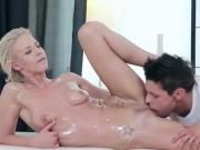 Hottie Niki Gets Pleasured By Horny Masseur