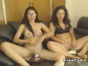 Four Babes Hot Naked and Playing with Toys