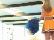 Kiara Diane cheerleader gets a creampie