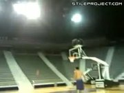 World's Most Amazing Ceiling Basketball Trick Shot
