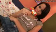 hot young teen sonja red rides a big dick