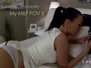 Big booty Milf banging pov in bedroom