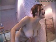 BIg tit Japanese chick pisses