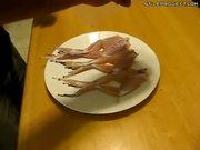dead frog legs start dancing when you put salt on them