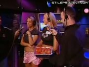 Chicks Trying To Catch Meatballs With Their Butts On Howard Stern