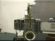 Robot Plays John Coltrane's Giant Steps