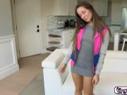 Cassidy Klein is definitely wild as shown by her ease at which to do the naughty. She is also flexible which helps a lot when it comes to giving a show which she loves to do which this clip shows. Go, Cassidy.