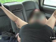 Masseuse fucks for money and free rides in fake taxi