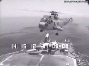 Helicopter Ship Landing Epic Fail