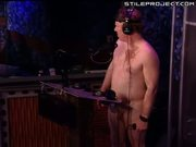 Gina Lynn rides on the sybian on Howard Stern