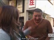 Subtitled public Japanese extreme crossdressing femdom
