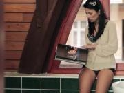 Sexy stepmom Shalina Levine hot ffm 3way