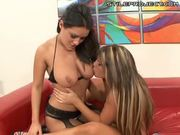 Charley Chase and Charisma Cappelli threesome