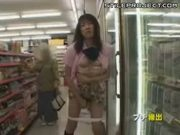 Japanese Girl Sucks Cock & Fucks In Public Places