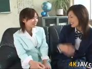 Japanese Girls Kissing