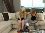 Cock loving chick Lily Rader craves a big dick