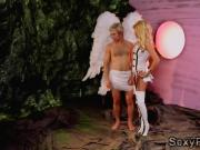 Asa and Rachael fuck hotties in Barbarella XXX parody