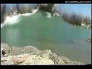 Massive Lake Explosion