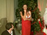 Big-Breasted Ariella Ferrera Screwed By Butler & Santa