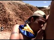 Latin boy scouts sixtynining and anal sex