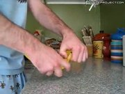How To Open A Banana Like A Monkey