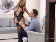 Hot Courtesan Katarina Muti Gets Her Client Hard