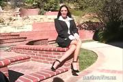 Hot Brunette Mom Cheyenne Hammered In The Throat Cunt