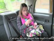 Milf sucked big cock to pay taxi