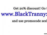 Black trannies in group