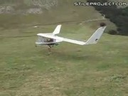 Man Creates Personal Wind-Powered Airplane