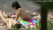 Hidden cam: Couple fucks outdoors