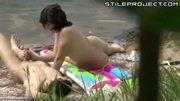Hidden cam: Couple fucks outdoors